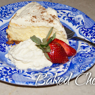 Baked Cheesecake – GLUTEN FREE