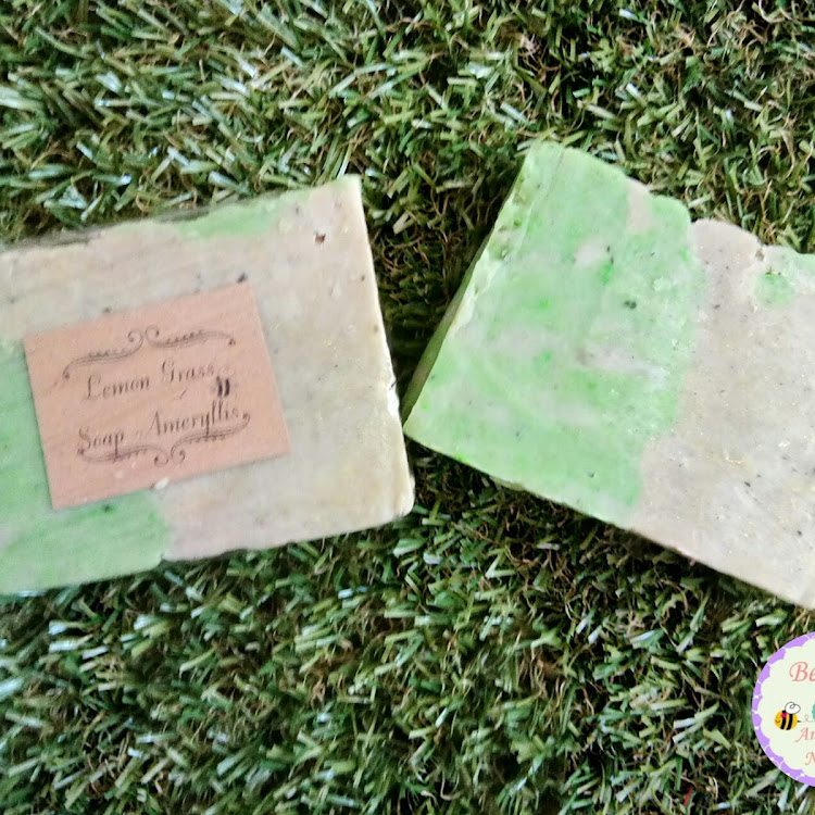Lemon grass soap Ameryllis by ameryllis nature soap
