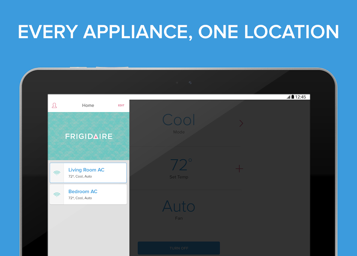 Frigidaire - Smart Appliances- screenshot
