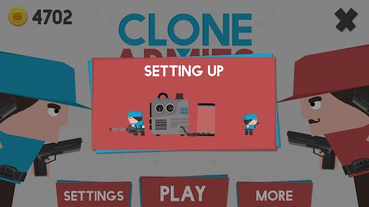 Clone Armies v1.21 (Mod Money)