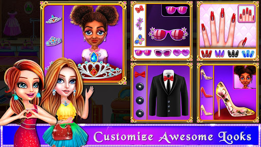 Wedding Bride and Groom Fashion Salon Game apktram screenshots 15