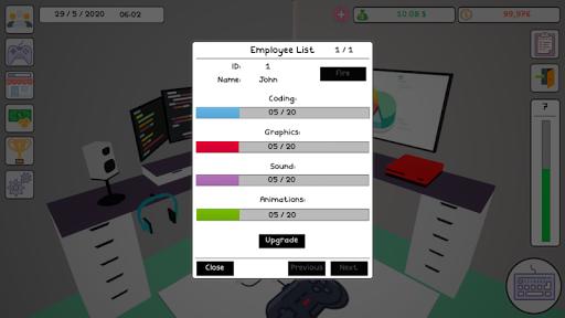 Code Triche Game Dev Tycoon Arcade APK MOD screenshots 6