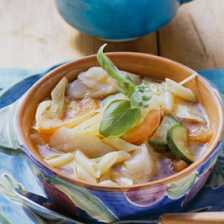 Cod Minestrone Soup