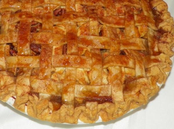 Caramel Apple Pecan Pie Recipe
