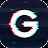 3D Glitch Photo Effects - Camera VHS Camcorder Icône