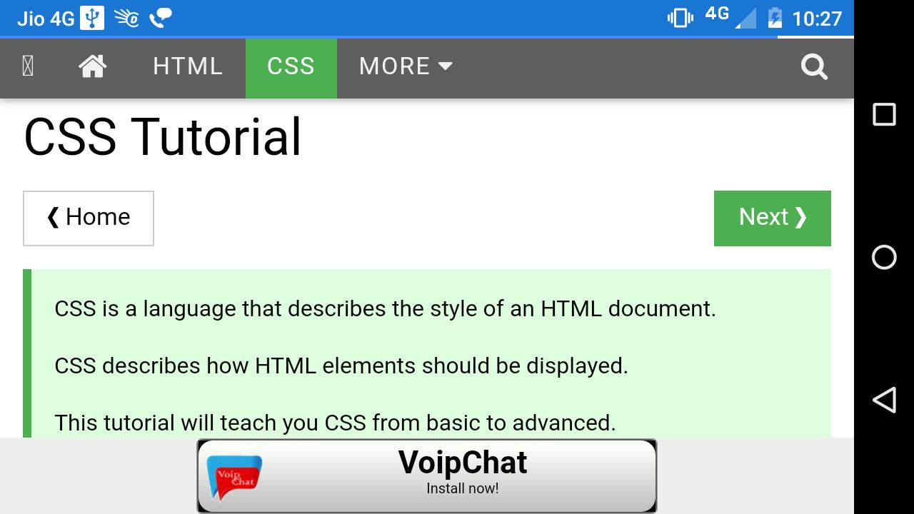Web colors w3schools - W3schools Full Web Version Screenshot