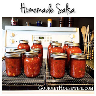 Homemade Salsa With Tomato Sauce Recipes.