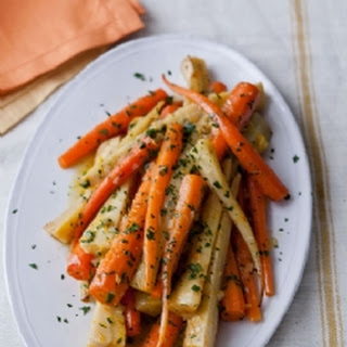 Orange-Braised Carrots & Parsnips