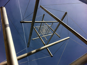 Photo: ...and I like the view up the center of it. Can you see the six-pointed star?