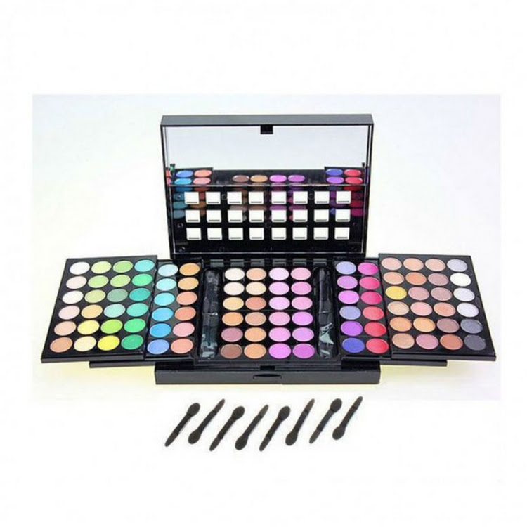 96 Color Blockbuster Triple Layer Professional eyeshadow palette set by Supermodels Secrets
