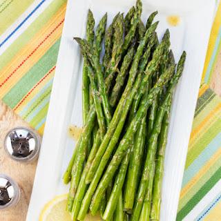 Roasted Asparagus with Lemon Vinaigrette