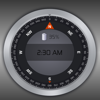 Compass Clock Pro for Wear