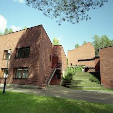 Photo: Town hall, Säynätsalo. CZJ Flektogon 50mm