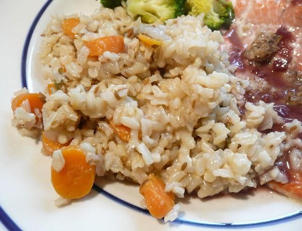 Carrot-cumin Pilaf Recipe