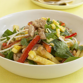 Asian Pork and Pineapple Salad