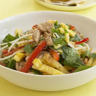 Asian Pork and Pineapple Salad.