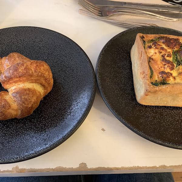 Croissant and Quiche