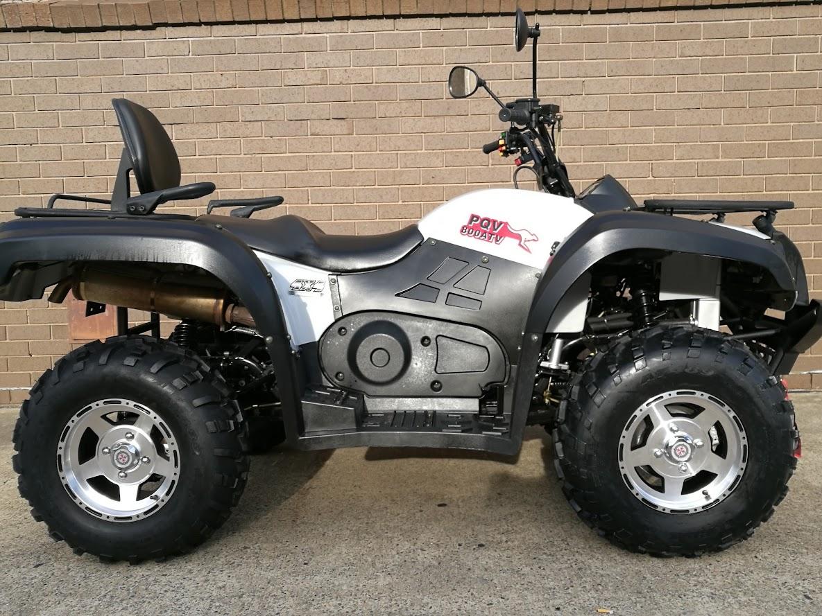 800cc 4WD Hisun Farm Quad Bike ATV PQV-800ATV Watercooled 4x4 Shaft IRS