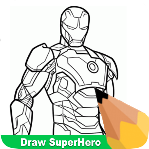 How To Draw Super Heroes 遊戲 App LOGO-硬是要APP