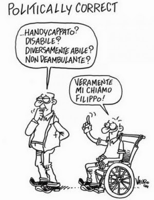 Vauro disabile Filippo