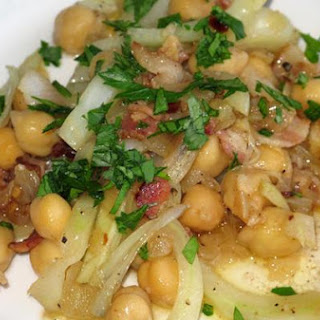 Warm Chickpea & Fennel Antipasto