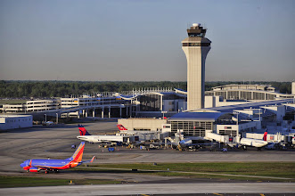 Photo: The McNamara Terminal at Detroit Metro Airport. CREDIT: Wayne County Airport Authority/Vito Palmisano.
