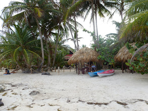 Photo: beach area of Little Corn Beach & Bungalows