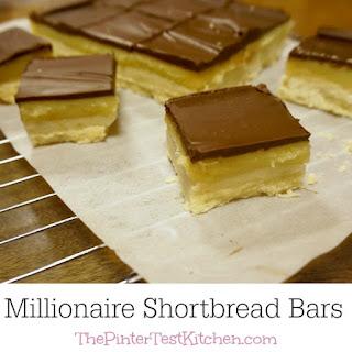 Millionaire Shortbread Bars #secretrecipeclub