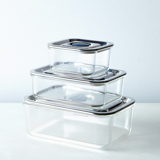 Airtight Glass Storage Containers