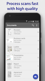 SharpScan - document scanner- screenshot thumbnail