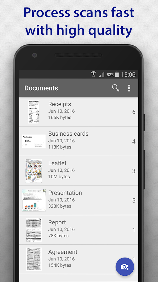 SharpScan - document scanner- screenshot