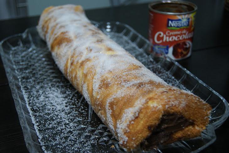 Chocolate Roll Pie Recipe