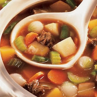 Old-Fashioned Beef-Vegetable Soup.