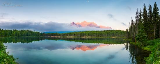 Photo: Herbert lake, Alberta Canada