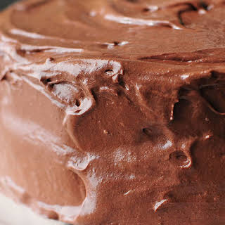 Malted Buttercream Chocolate Frosting.