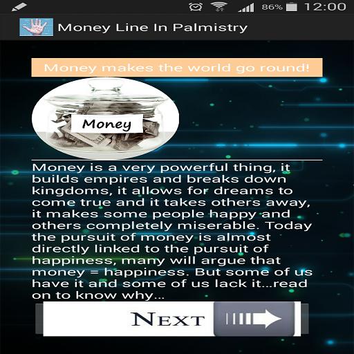 Money Line In Palmistry 娛樂 LOGO-玩APPs