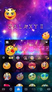Galaxy2 Starry Keyboard Themes 3
