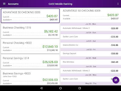CASE Credit Union Mobile screenshot 10