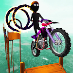 Stickman Dismount Stunts Icon