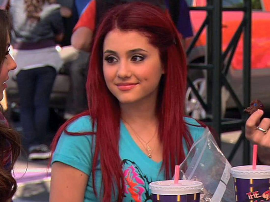 Cat in Victorious had a crazy personality