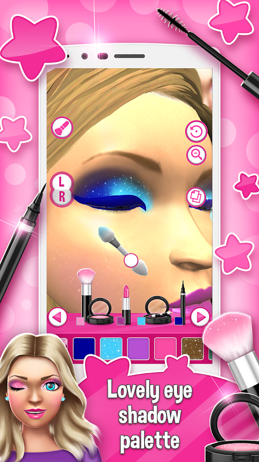 Princess makeup salon games 3d android apps on google play for 3d beauty salon games
