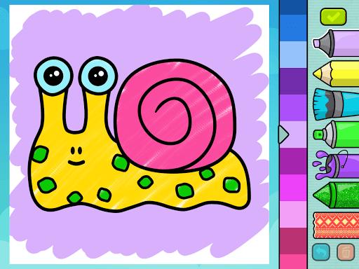 Coloring book for kids screenshot 9