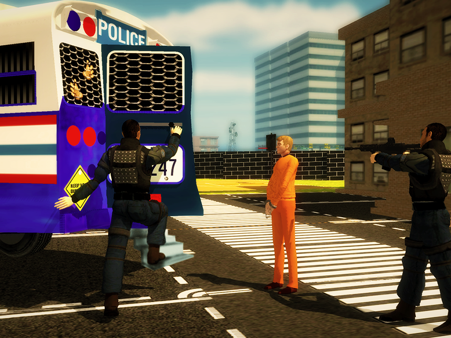 Police-Bus-Gangster-Chase 12