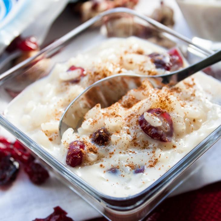 Tres Leches Rice Pudding with Craisins® Recipe