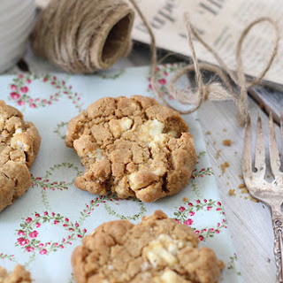 White Chocolate Coconut Peanut Butter Cookies