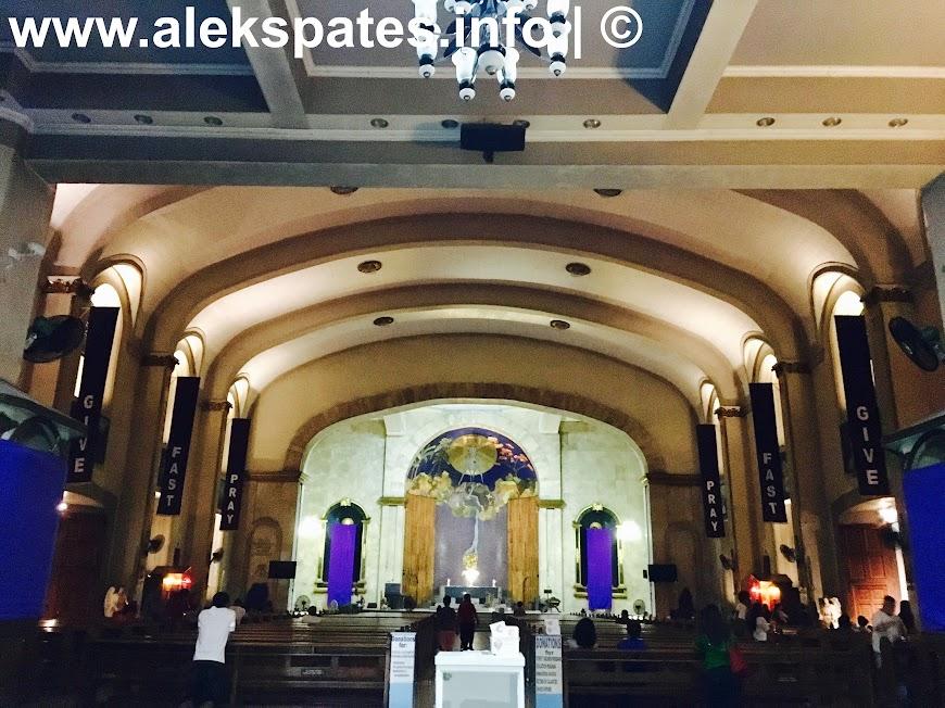 Visita Iglesia, Visita Iglesia 2017, Santa Cruz Church