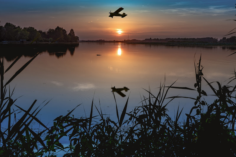 In volo sul lago di Matteo Masini