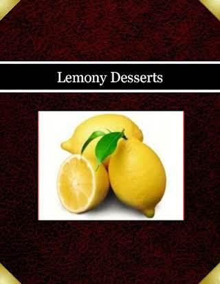 Lemony Desserts
