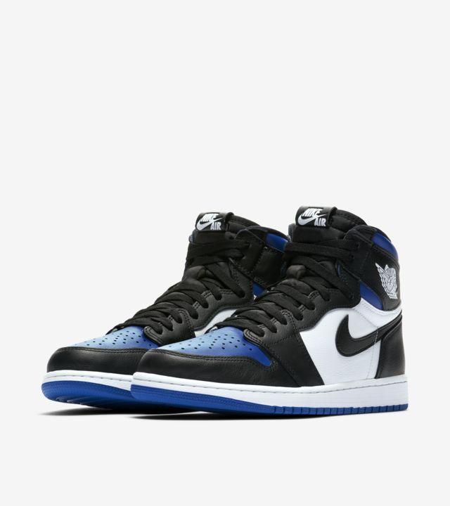 """Nike Air Jordan 1 Retro High OG Royal Toe"" รองเท้าที่ขายหมดไวเพราะซีรีส์ The Last Dance 06"