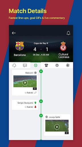 All Football - Barcelona News & Live Scores 3.1.6 BL Screenshots 4